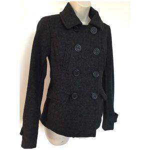 American Eagle Pea Coat Double Breasted Jacket UEC